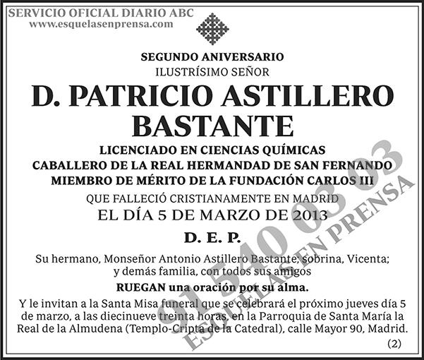 Patricio Astillero Bastante